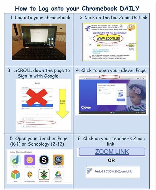Chromebook Login Help