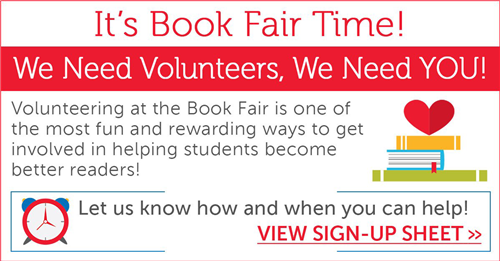 Welch Book Fair Volunteers