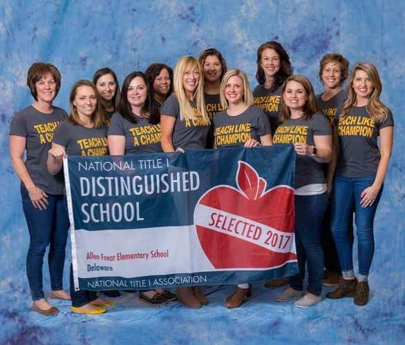 National Title 1 Distinguished School