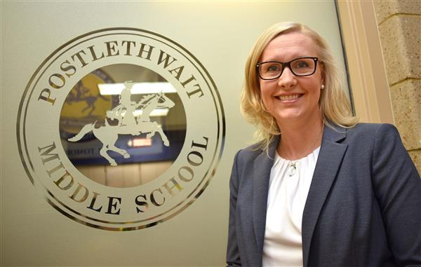 DR. KRISTINA FAILING APPOINTED AS PRINCIPAL OF          POSTLETHWAIT MIDDLE SCHOOL